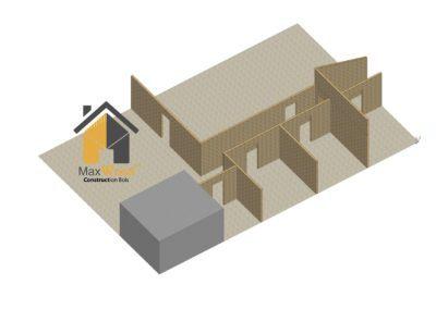 Cloison Cloisonnage Maxwood Luxembourg Specialiste Construction Bois Ossature Planche Maison Annexe Toiture Charpente Terrasse Bardage 2 400x284, MaxWood | Construction en bois