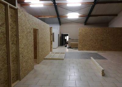 Cloison Cloisonnage Maxwood Luxembourg Specialiste Construction Bois Ossature Planche Maison Annexe Toiture Charpente Terrasse Bardage 3 400x284, MaxWood | Construction en bois