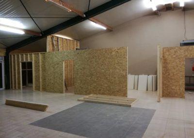 Cloison Cloisonnage Maxwood Luxembourg Specialiste Construction Bois Ossature Planche Maison Annexe Toiture Charpente Terrasse Bardage 4 400x284, MaxWood | Construction en bois