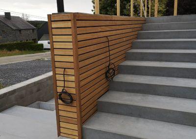 Montage Hall Industriel Maxwood Luxembourg Specialiste Construction Bois Ossature Virton 1 1 400x284, MaxWood | Construction en bois